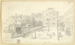 In The Borough Road, Southwark, c.1820